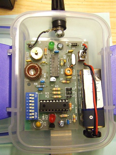 Ardf Transmitter http://www.open-circuit.co.uk/utx80.php